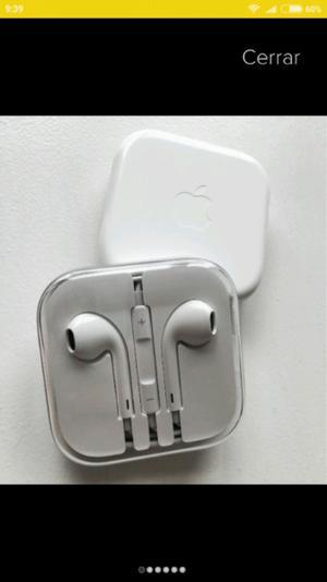 Auriculares originales Iphone Earpod control volumen