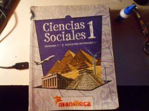 Ciencias Sociales 1 Escenarios Mandioca