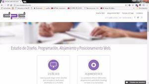 Diseño De Páginas Web A Medida, Desde $
