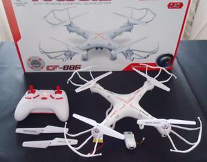Drone con cámara (foto- video) usado en caja (quadcopter