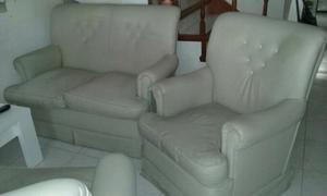 Juego Living. Sofa 2 cuerpos + 2 sillones indiv