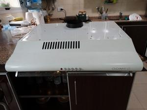 Purificador Extractor De Aire Cocina Domec Dom Blanco
