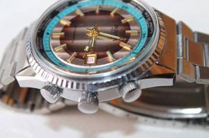 Reloj Okinawa Cuerda Nuevo Pero Antiguo Funcionando Perfecto