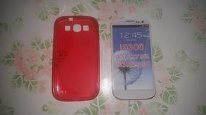 Samsung Galaxy S3 I Funda Cobertor Rosa Silicona Envios