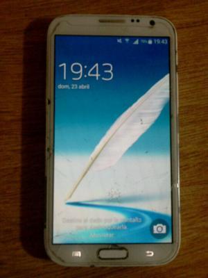 Samsung galaxy Note II libre de fabrica