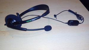 Headset Auricular Microfono Xbox 360 Original Joystick NUEVO