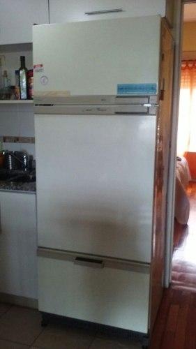 Heladera Con Freezer Tres Puertas Liquido Por Mudanza
