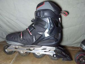 Patines Roller Blade Color Negro