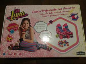 Patines Soy Luna Profesionales Talle 38 Original C/accesorio