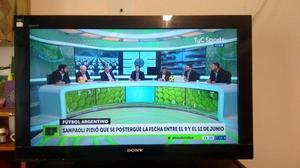 Tv Sony Bravia 32 Pulgadas Impecable