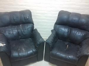 Vendo sillones para tapizar