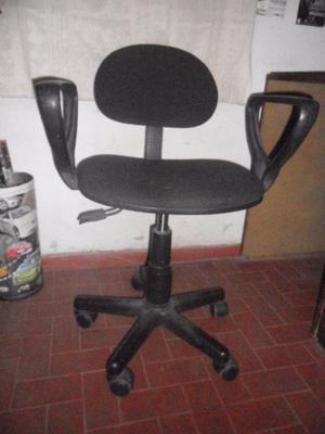 Silla para computaci n o escritorio con apoya posot class for Silla escritorio con brazos