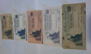 Billetes De Argentina, Serie Progreso, Venta Del Total