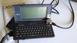 Casiopeia Handheld Pc - Made In Japan - Vintage