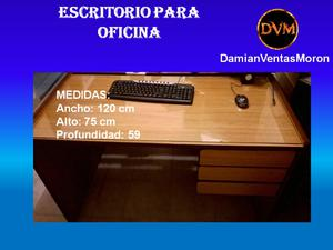 Escritorio para oficina (usado) 120 x 75 x 59 (Ref. 3)