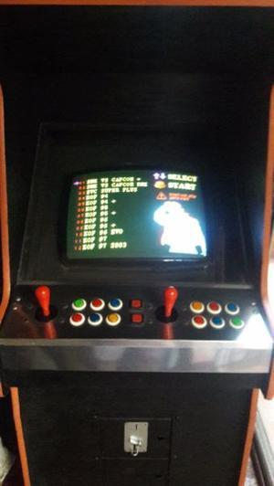 Maquina videojuego neo-geo retro