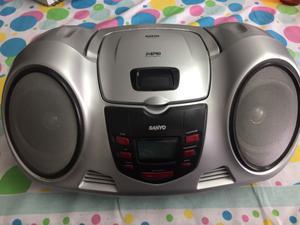 Reproductor Sanyo Mdx 112 - Radio/cd/cd Mp3