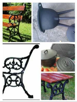 bancos de plaza juegos de jardin patas sueltas para armar