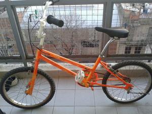 bicicleta rodado 20 de niño