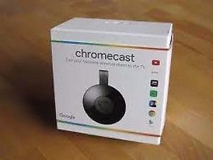 Chromecast 2 nuevos en caja