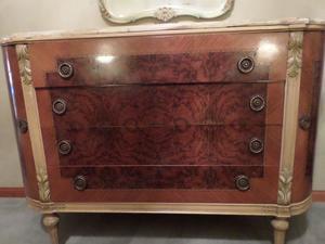 Juego completo de dormitorio de estilo Luis XV