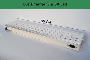 Luz emergencia 60 led, 15 hs autonomía, no te quedes a