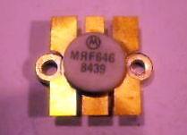 transistor uhf motorola mrf646 nuevo 45w 12,5 volts