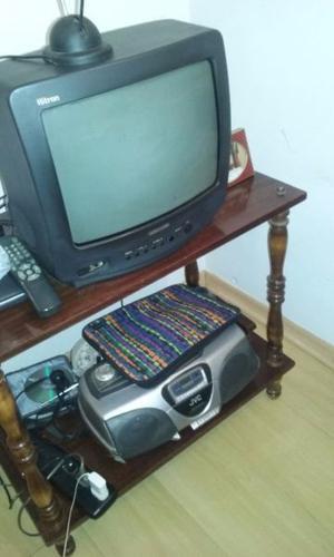 vendo mesa y tele