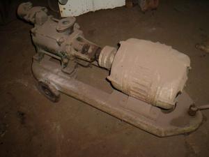 Bomba con motor