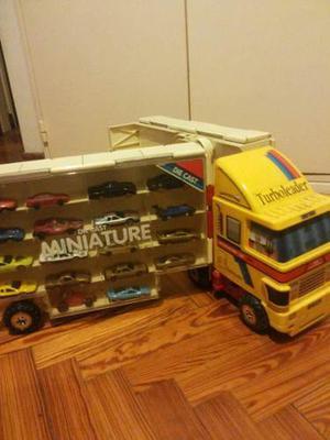 Camion Contenedor De Autos Die Cast