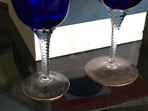 Copas Checoslovacas de cristal