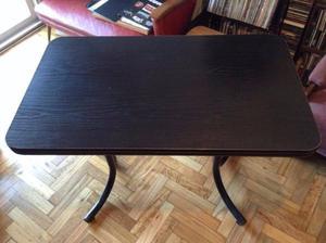 Escritorio en chapa y formica posot class - Mesa escritorio negra ...