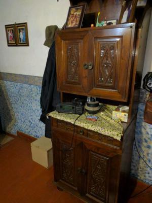 Mueble Algarrobo Macizo Est Esp