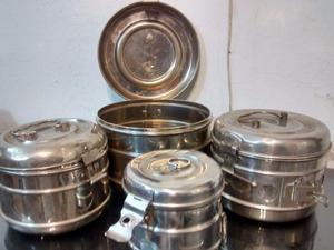 Tambores de acero inoxidable para esterilización