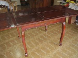 Mesa vasco provenzal rustico y sillas posot class - Sillas estilo provenzal ...