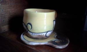 Juego de tazas isamena nuevas sin uso posot class for Juego tazas cafe