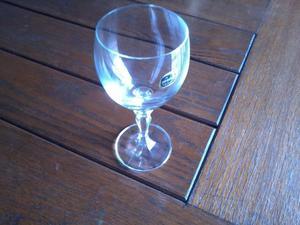 Juego 6 copas cristal bohemia florence goblet posot class for Copas bohemia