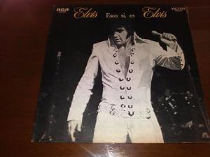 Elvis Presley Esto Si, Es Elvis - Lp Vinilo Disco Argentina