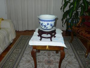 Macetero de porcelana china