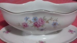 Salsera de porcelana verbano