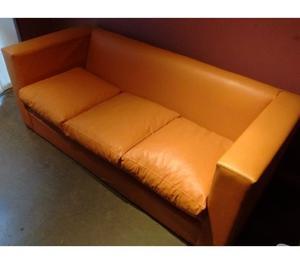 Sofa de 3 Cuerpos Ecocuero