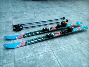 Tablas de ski con Fijaciones y Bastones Rossignol