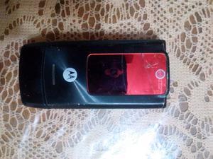 VENDO TELEFONO MOTOROLA W5 NEGRO LIBERADO