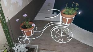 triciclo porta macetas