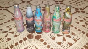 Botellas coca cola de coleccion