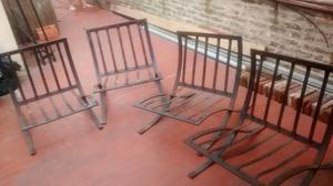 Juego de sillones de 3 piezas palermo posot class for Sillones de patio