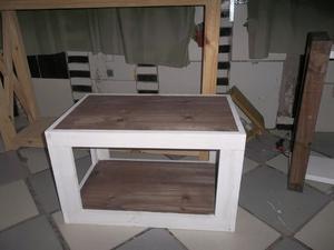 Liquido mesa de luz, mesas ratonas y lampara de escritorio.