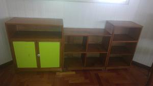 Muebles Modulos De Madera Guatambu Macisos