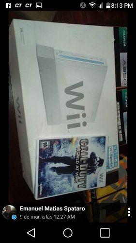 Nintendo Wii Con Juego Sin Abrir Permut