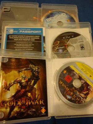 Pack de 3 juegos ps3